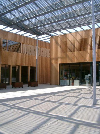 Ludesch Municipal Centre Solarfassade Info Portal For