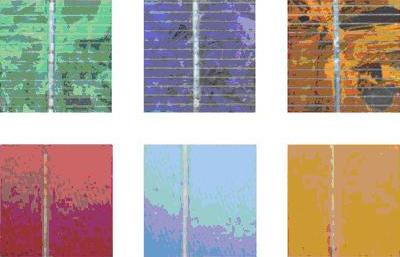Photovoltaik farbe